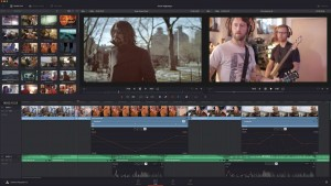 DaVinci Resolve's new editor